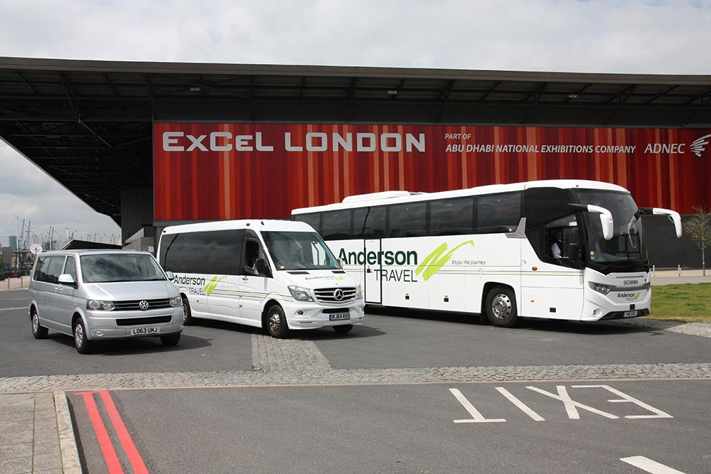 Event coach hire Kent