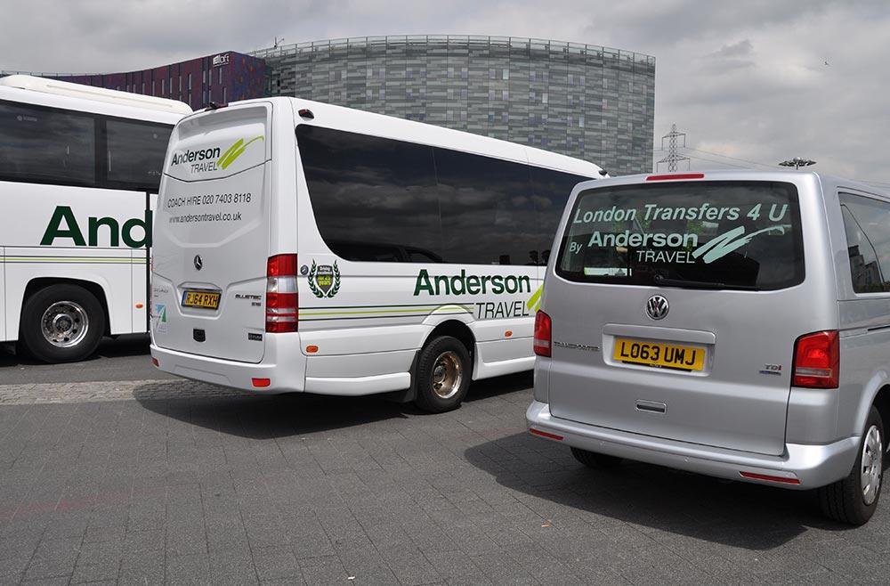 Coach and minibus hire essex